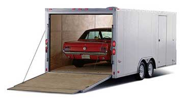 enclosed auto transport services by ASWD