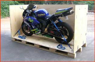 motorcycle shipping services by ASWD